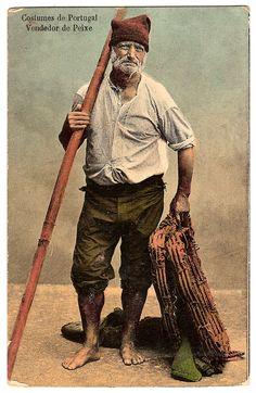 Pescador Portugues Old Fisherman, Portuguese Culture, Visit Portugal,  Azores, Marin, Porto b0a4f9d7229