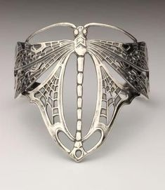 Art Nouveau dragonfly armband ~ Design inspired by the famous ...