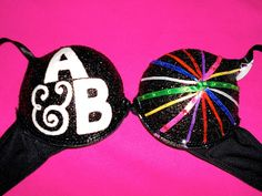 Above & Beyond Group Therapy custom rave bra