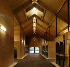 CMW Equine Architects has the most wonderful barns :D
