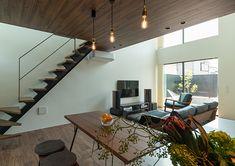 『 のおうち | 注文住宅なら建築設計事務所 フリーダムアーキテクツデザイン Conference Room, Table, Squat, House, Furniture, Home Decor, Squat Bum, Decoration Home, Home