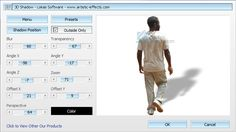 Artistic Effects 3D Shadow Freeware Photoshop plug-in 32Bit