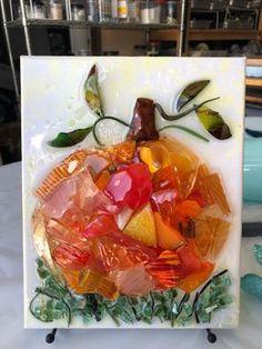 Broken Glass Crafts, Broken Glass Art, Sea Glass Crafts, Shattered Glass, Sea Glass Art, Mosaic Glass, Resin Crafts, Resin Art, Glass Paint
