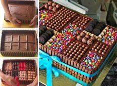 Chocolate Box Cake Recipe Quick Video