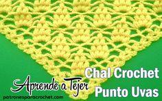 Αποτέλεσμα εικόνας για chal tejido lroc retraso en forma de uvas