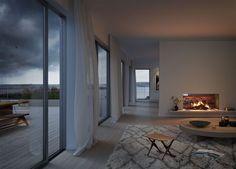 Oscar Properties, No. Oscar Properties, Consort Design, Interior Styling, Interior Design, Black And White Design, Scandinavian Interior, Interior And Exterior, Foyer, Sweet Home