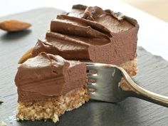 Raw Chocolate Cheesecake