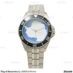 Flag of Antarctica Watches