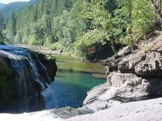 Lower Lewis River Falls - 60 miles East of Woodland, Washington