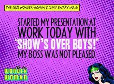 the desi wonder woman: diary entry no. 3