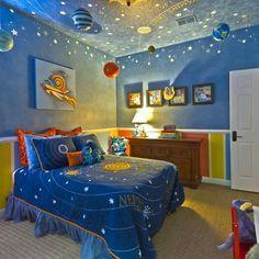 Stitch Themed Bedroom