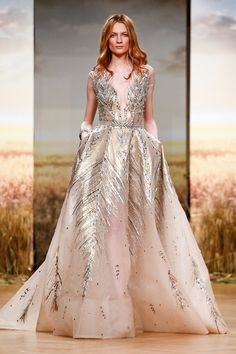 Ziad Nakad Couture Spring Summer 2018 Paris