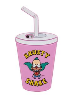 Skinnydip X The Simpsons iPhone 5/5S Krusty Shake Silicone Case (I really want one of these but I'm a Samsung user:c)