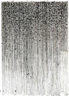 """Saatchi Art Artist Nigel Bird; Drawing, """"Pennies remade (again)"""" #art"""