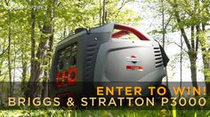 50 Campfires is giving away a Briggs & Stratton P3000 Generator! Click to enter!