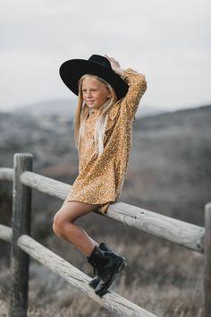 Rylee + Cru - Marigold ruffle v dress Little Girl Fashion, Little Girl Dresses, Fashion Kids, Fall Fashion, V Dress, Ruffle Dress, Toddler Girl Style, Inspiration Mode, Stylish Kids
