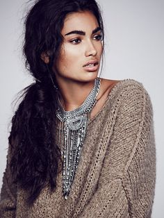 Free People Exaggerated Fringe Collar, $48.00