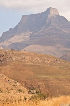 Drakensberg Mountains in the dry winter season, South Africa Seychelles, Uganda, Westerns, Namibia, Destinations, Kwazulu Natal, Out Of Africa, Africa Travel, Countries Of The World