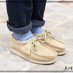 Polo FootwearRalph Lauren FootwearPolo Sneaker Display quality and style in your relaxed ensemble with the Polo Ralph Lauren™ Slaton Pony. Suede Shoes, Men's Shoes, Shoe Boots, Shoes Style, Top Shoes, Gents Fashion, Look Fashion, Clarks Originals, Modern Man