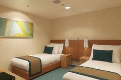 30 Carnival Breeze Pictures - Even the more basic rooms are nicely decorated and furnished, with comfortable beds and plenty of space.