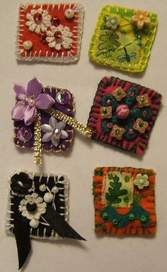 FLORAL INCHIES - 1 - SENT by MAD MUMMY, via Flickr