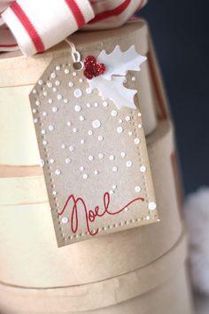 Christmas gift tags diy