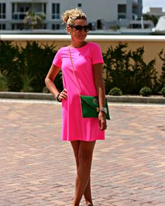 #Neon #Pink cute and casual