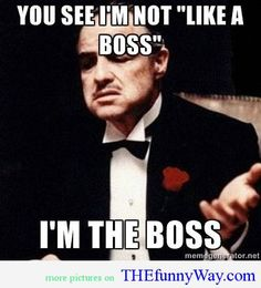 Funny Movie Quotes | funny quotes from movies He is the boss movies