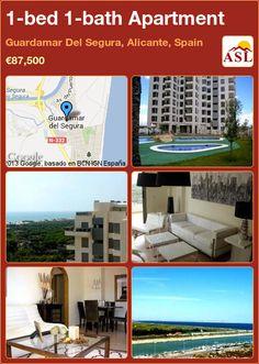 1-bed 1-bath Apartment in Guardamar Del Segura, Alicante, Spain ►€87,500 #PropertyForSaleInSpain