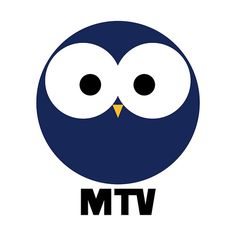 Finnish commercial TV channel MTV [Mainos Televisio] founded in 1957. The typical owl logo 1975-1992.