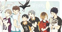 HQ!! Setters - Haikyuu!! / HQ!!