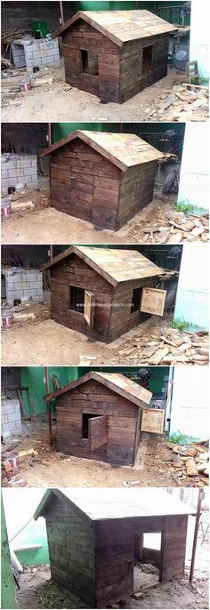 Old shipping pallets can be used on useful terms for the creation of the playhouses superb and artistic flavors! Creating playhouses structures as with wood pallet material is perfect for you. You will be finding it much modern and simple.