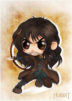 The Hobbit - Chibi Kili, at your service! by CibiaH.deviantart.com on @deviantART