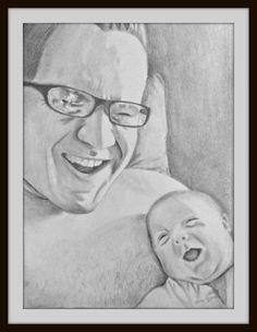 Custom Pencil Portrait Commission  Custom by EarthChildArt on Etsy