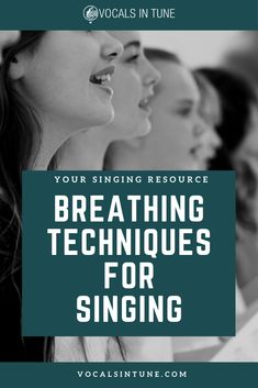 There are proper breathing techniques for singing that will support your voice as you sing, increase your lung capacity, increase vocal comfort, and stamina. Vocal Lessons, Singing Lessons, Singing Tips, Music Lessons, Guitar Lessons, Art Lessons, Singing Techniques, Breathing Techniques, Vocal Warm Up Exercises