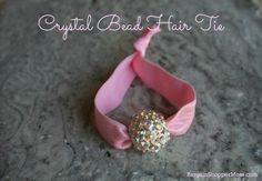 Make your Own DIY Hair Accessories, Hair Ties, Hair Flowers, Headbands and More. So easy even kids can help.