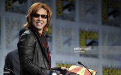 Musician Yoshiki speaks at 'Blood Red Dragon' Press Conference during Comic-Con 2011 at The Hilton San Diego Bayfront Hotel on July 21, 2011 in San Diego, California.