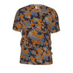 #Navy by #And&And #Camouflage, #Camo, #Alloverprint, #Tshirt, #CitrusReport, #@The Citrus Report