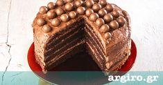 Τούρτα με παντεσπάνι σοκολάτας από την Αργυρώ Μπαρμπαρίγου | Η πιο ωραία τούρτα σοκολάτα που εντυπωσιάζει με τη γεύση και την αέρινη σοκολατένια υφή της!