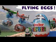 Disney Planes Kinder Surprise Egg Thomas The Train Batman Donald Duck Kinder Easter Egg Opening - YouTube
