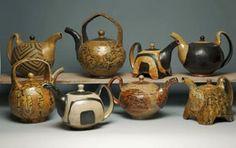 Mark Shapiro pottery at MudFire Gallery