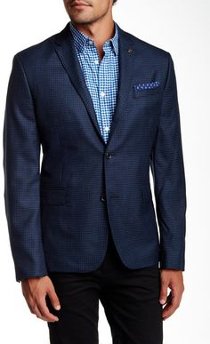Ben Sherman Gingham Sport Coat