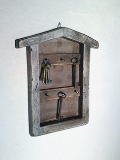 Key holder box key fob box key chain box key by SimpleCraftIdeas