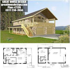 Home Plan 001 2136 Home Plan Great House Design Garage Guest House Carriage House Plans House Plans
