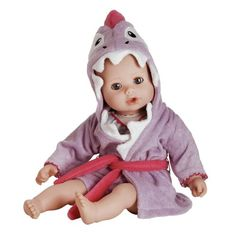Adora BathTime Shark 13 Girl Washable Play Doll with OpenClose Eyes for Children 1 Soft Cuddly Huggable QuickDri Body for Water Fun Toy -- Read more reviews of the product by visiting the link on the image.