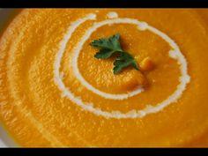 Crema de zanahoria y manzana muy saludable | Cocina