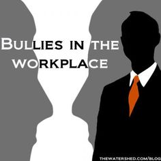 New Study: Workplace Bullying May Lead To Drug Abuse    Remember the days of school yard bullies, mean... pinned with Pinvolve