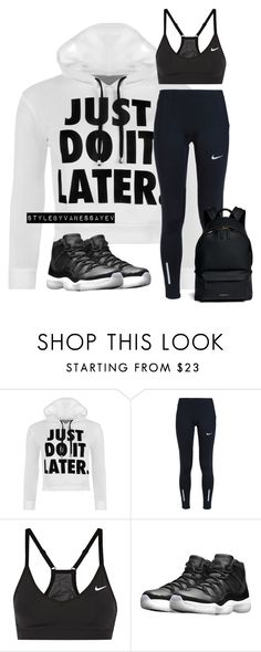 """#789"" by vanessayev ❤ liked on Polyvore featuring WearAll, NIKE and Givenchy"