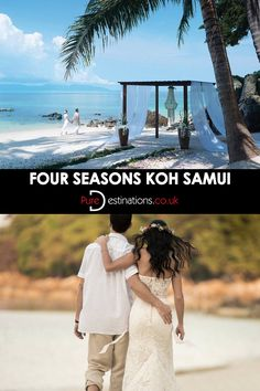 Wedding on Koh Samui beach by Four Seasons Resorts. where would you have your wedding?