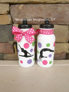 SALE Personalized Gymnastics Party Favors Kids Gift Ideas on Etsy, $7.75